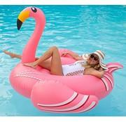 REBL XXL Roze Opblaasbare Flamingo zwemband / luchtbed - 190 CM