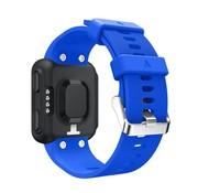 REBL Siliconen polsbandje voor de Garmin Forerunner 35 - Blauw