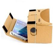 (Google) cardboard inclusief hoofdband / Virtual reality 3D bril - geschikt voor smartphones tot 5,5 inch