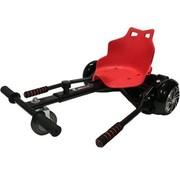 REBL Hoverkart – Hoverseat voor Hoverboard – Zwart met Rood