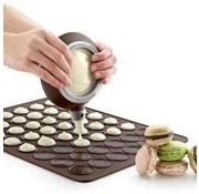 REBL Siliconen bakmat / bakvorm voor Macarons - Geschikt voor 30 macarons