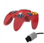 REBL N64 | Nintendo 64 controller met originele aansluiting | 1 stuk | Rood