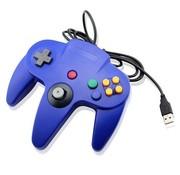 REBL N64 | Nintendo 64 controller met USB aansluiting voor o.a. je Raspberry Pi| 1 stuk | Blauw