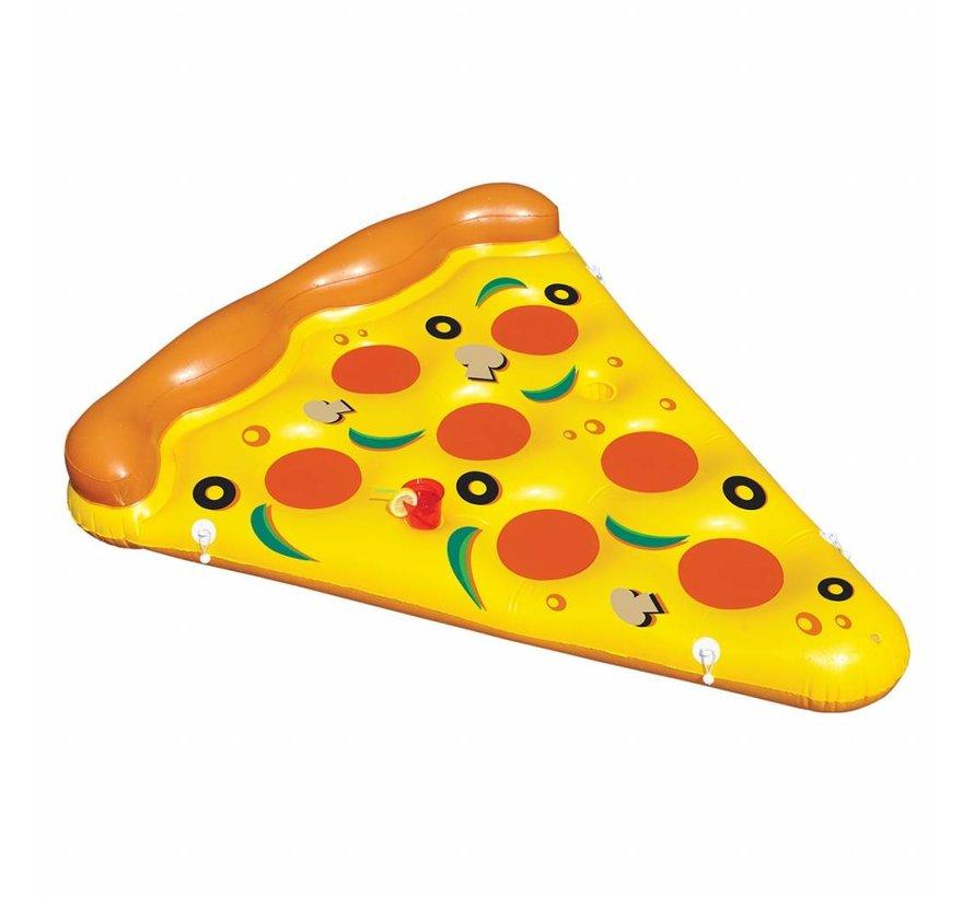 Grote opblaasbare pizza punt zwemband - 180 CM