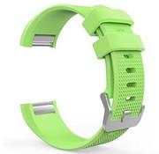 REBL Siliconen polsbandje voor de Fitbit Charge 2 - Groen