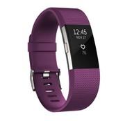 REBL Siliconen polsbandje voor de Fitbit Charge 2 - Paars