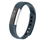 REBL Siliconen polsbandje voor de Fitbit Alta / Alta HR - Blauwgrijs