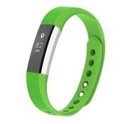 REBL Siliconen polsbandje voor de Fitbit Alta / Alta HR - Groen