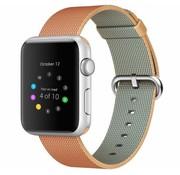 REBL Geweven nylon bandje voor de Apple Watch  - Oranje / Geel
