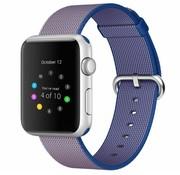 REBL Geweven nylon bandje voor de Apple Watch  - Paars / Blauw