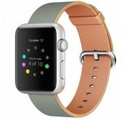 REBL Geweven nylon bandje voor de Apple Watch  - Royal Blauw