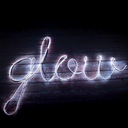 Fizz Creations Maak je eigen Neon effect light - Wit