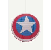 Marvel Captain America Marvel papieren lampenkap