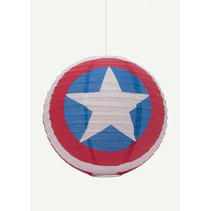 Captain America Marvel papieren lampenkap