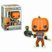 Pumpkin Head GitD #266 - Funko POP!