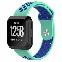 Fitbit Versa bandje - Mint / Blauw
