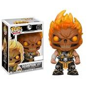 Funko Scorpion Flaming Skull #255 - Funko POP!