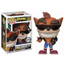 Crash Bandicoot Biker Outfit #275 - Limited Editie - Funko POP!