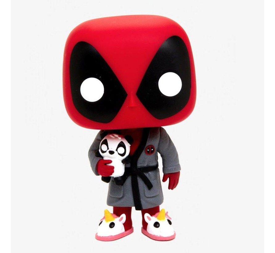 Bedtime: Deadpool in Robe #327  - Deadpool - Funko POP!