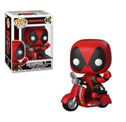 Funko Rides: Deadpool & Scooter #45 - Funko POP!