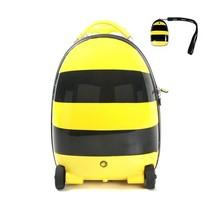 Walking suitcase voor kinderen met Bijenprint