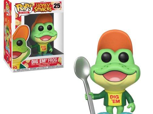 Funko Dig Em' Frog (Box Damage) #25 - Funko POP!