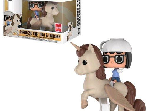 Funko Espresso Trip Tina & Unicorn SDCC 2018 (Box Damage) #40 - Funko POP!