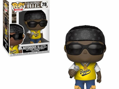 Funko Notorious B.I.G. in jersey #78 - Funko POP!
