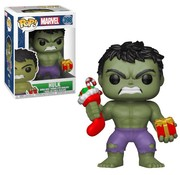 Funko Holiday Hulk with Stocking & Plush #398 - Funko POP!