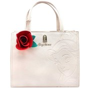 Loungefly Loungefly Disney -Belle embossed charm tas