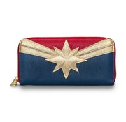 Loungefly Loungefly Marvel -Captain Marvel Zip Around Wallet / Portemonnee