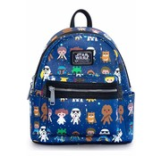 Loungefly Loungefly Star Wars -Star Wars Characters Cutesy AOP Mini Backpack / Rugtas