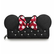 Loungefly Loungefly Disney - Minnie Bow Zip Around Wallet / Portemonnee