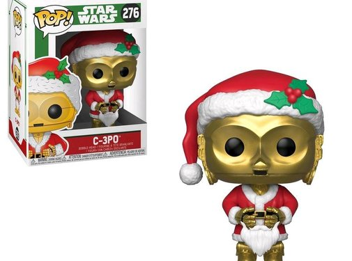 Funko C-3PO as Santa #276 - Funko POP!