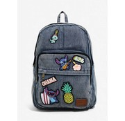 Loungefly Loungefly Lilo & Stitch Patched Denim Backpack  / Rugtas