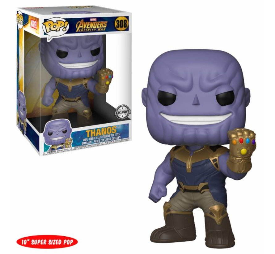 Thanos 10 inch #367  - Infinity War - Funko POP!
