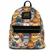 Loungefly Loungefly Star Wars - Ewok AOP Mini Backpack / Rugtas