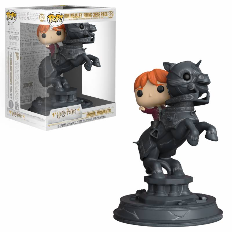 Ron Riding Chess Piece Funko Movie Moment