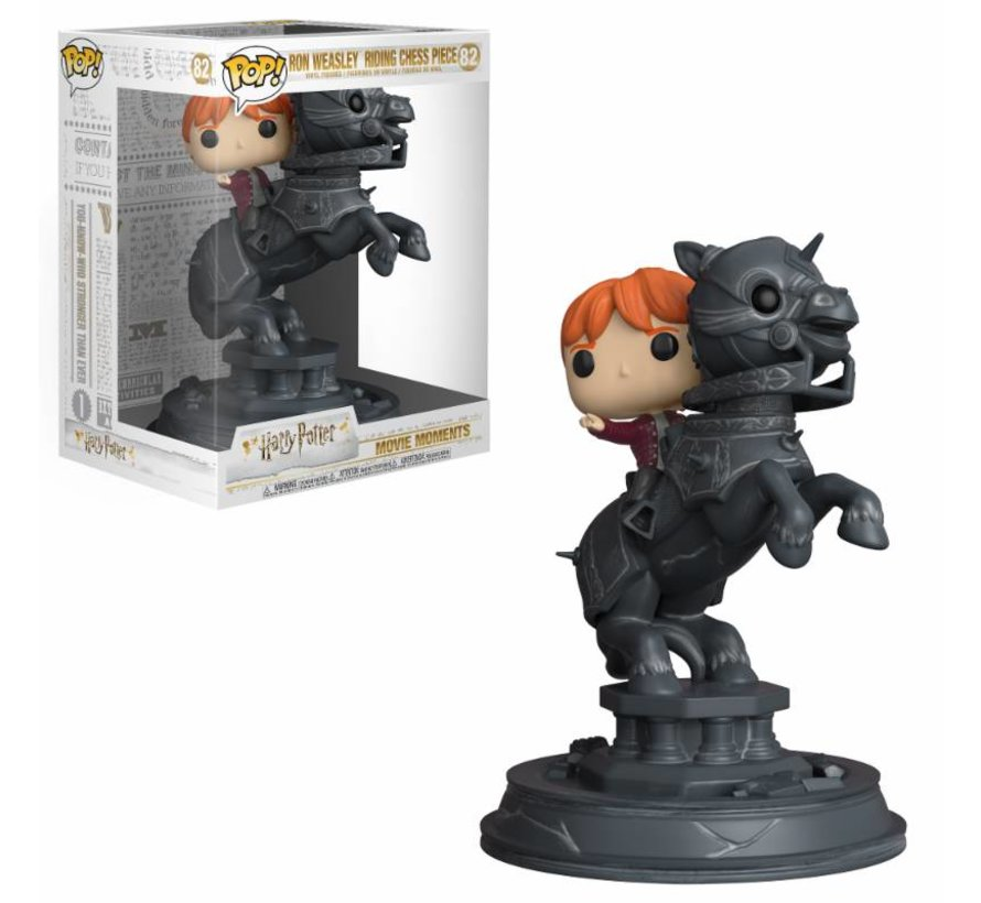 Ron Riding Chess Piece Movie Moment #82  - Harry Potter -  - Funko POP!
