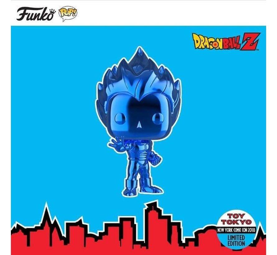 Blue Chrome Super Saiyan Vegeta #154   - Dragon Ball Z - Toy Tokyo Exclusive - Funko POP!