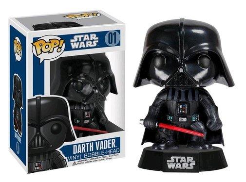 Funko Darth Vader (Black Box) #01 - Funko POP!