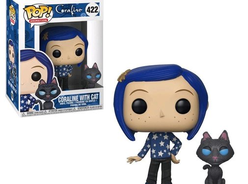 Funko Caraline with Cat #422 - Funko POP!