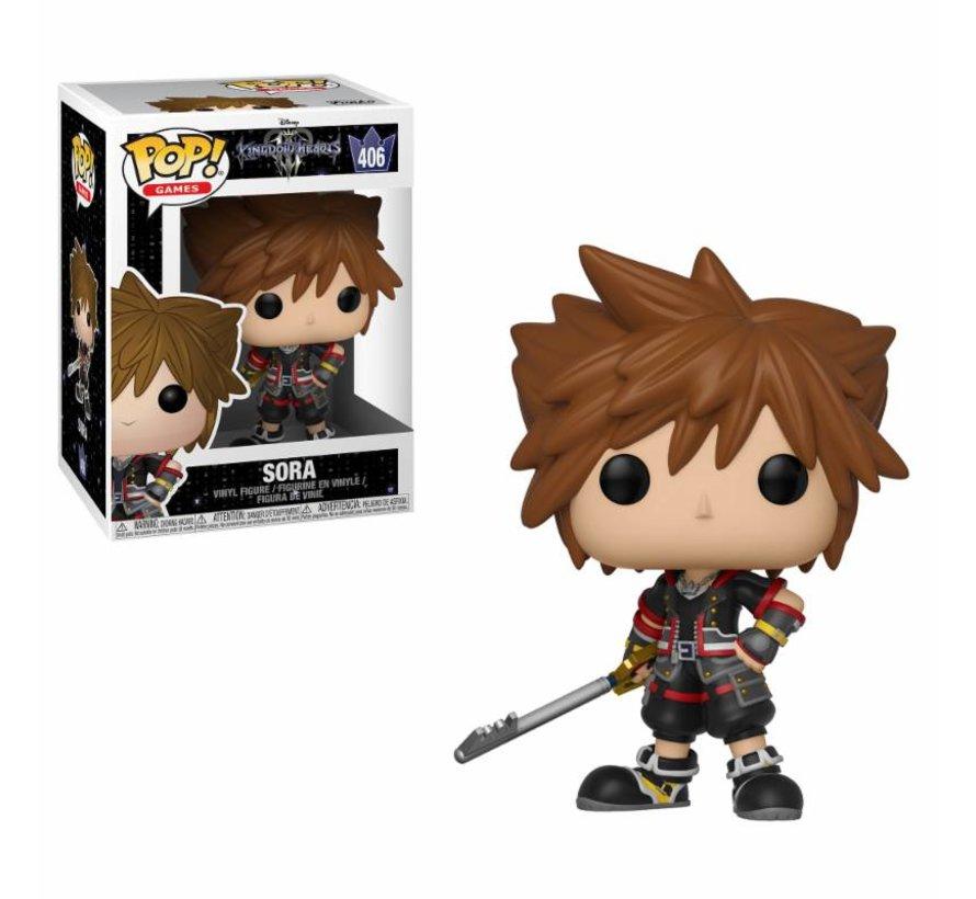 Sora #406  - Kingdom Hearts 3 - Disney - Funko POP!