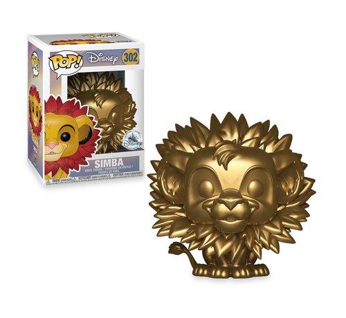 Funko Simba Golden Age (Box Damage) #302  - The Lion King - Disney Exclusive - Funko POP!