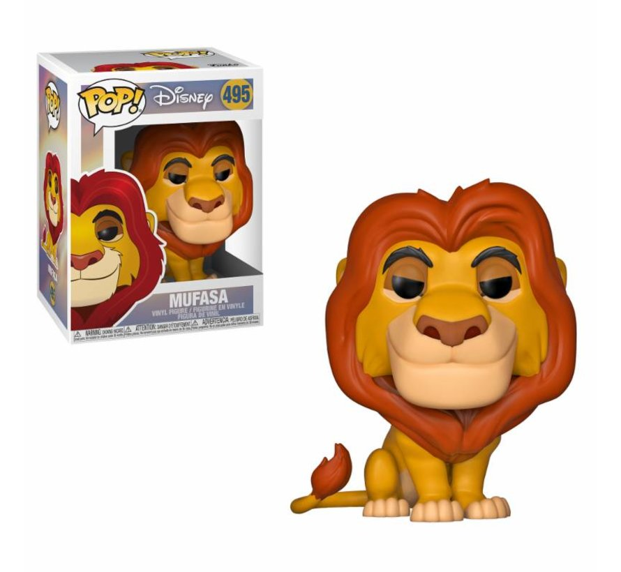 Mufasa #495  - The Lion King - Funko POP!