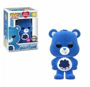 Funko Grumpy Bear (Flocked) #353 - Funko POP!