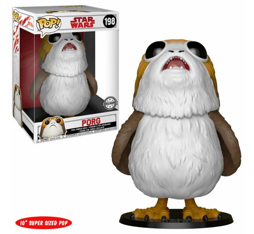 "Funko 10"" Porg #198 Limited Editie - Star Wars - Disney - Funko POP!"