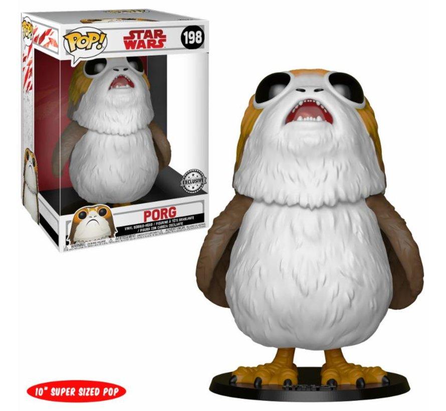 "10"" Porg #198 Limited Editie - Star Wars - Disney - Funko POP!"