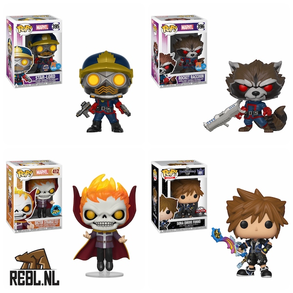 Guardians of the Galaxy Funko Pop! Pre-orders