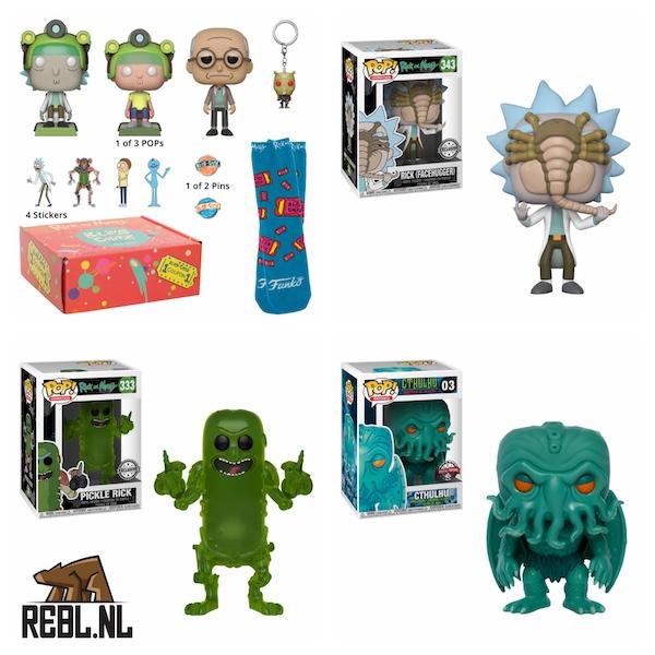 Rick & Morty Funko Pop! Pre-orders